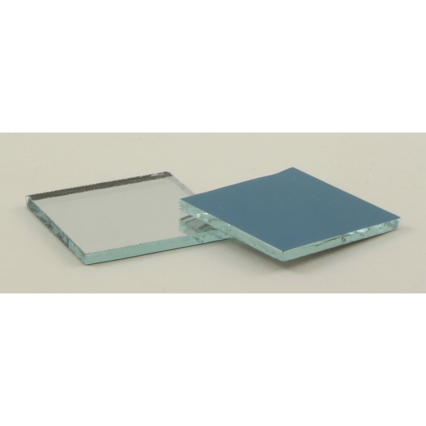 Small Mirror Pieces: 1 Inch Glass Craft Small Square Mirrors 25 Pieces Mosaic