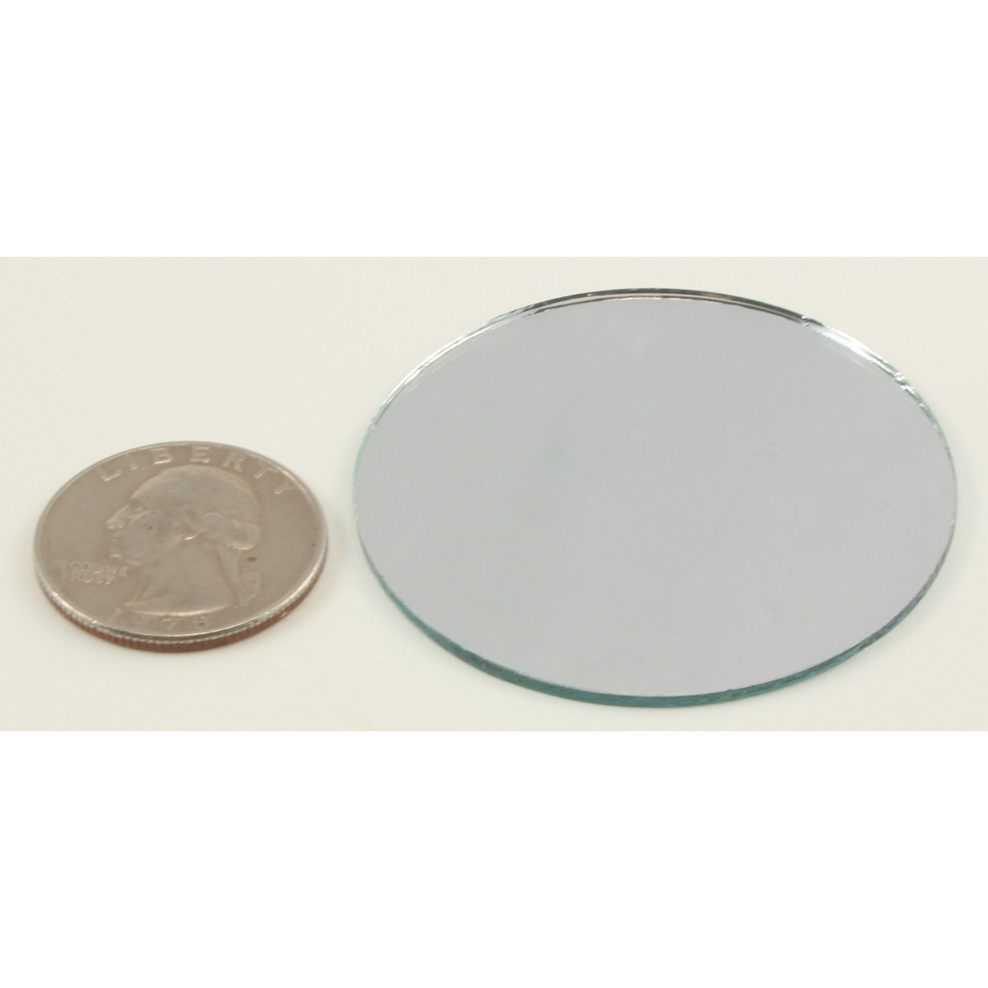 2 Inch Round Mirrors Bulk Craft