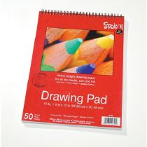 9 X 12 Inches Studio 71 Spiral Bound Drawing Pad