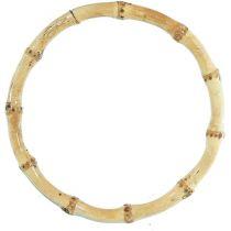5 inch Natural Bamboo Ring