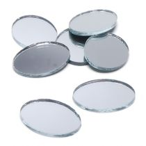 Mini Oval Mirrors