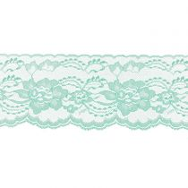 Mint 3 Inch Wide Flat Lace