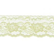 Maize 3 Inch Wide Flat Lace