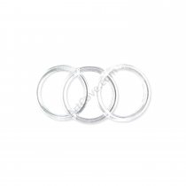 4 Inch Clear Plastic Rings