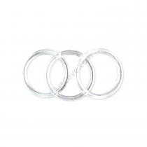 5 Inch Clear Plastic Rings