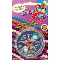 0.7mm Clear Stretch Magic Bead & Jewelry Cord