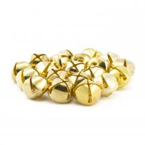 5/8 Inch 16mm Gold Craft Jingle Bells Bulk