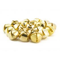 3/4 inch gold jingle bells bulk
