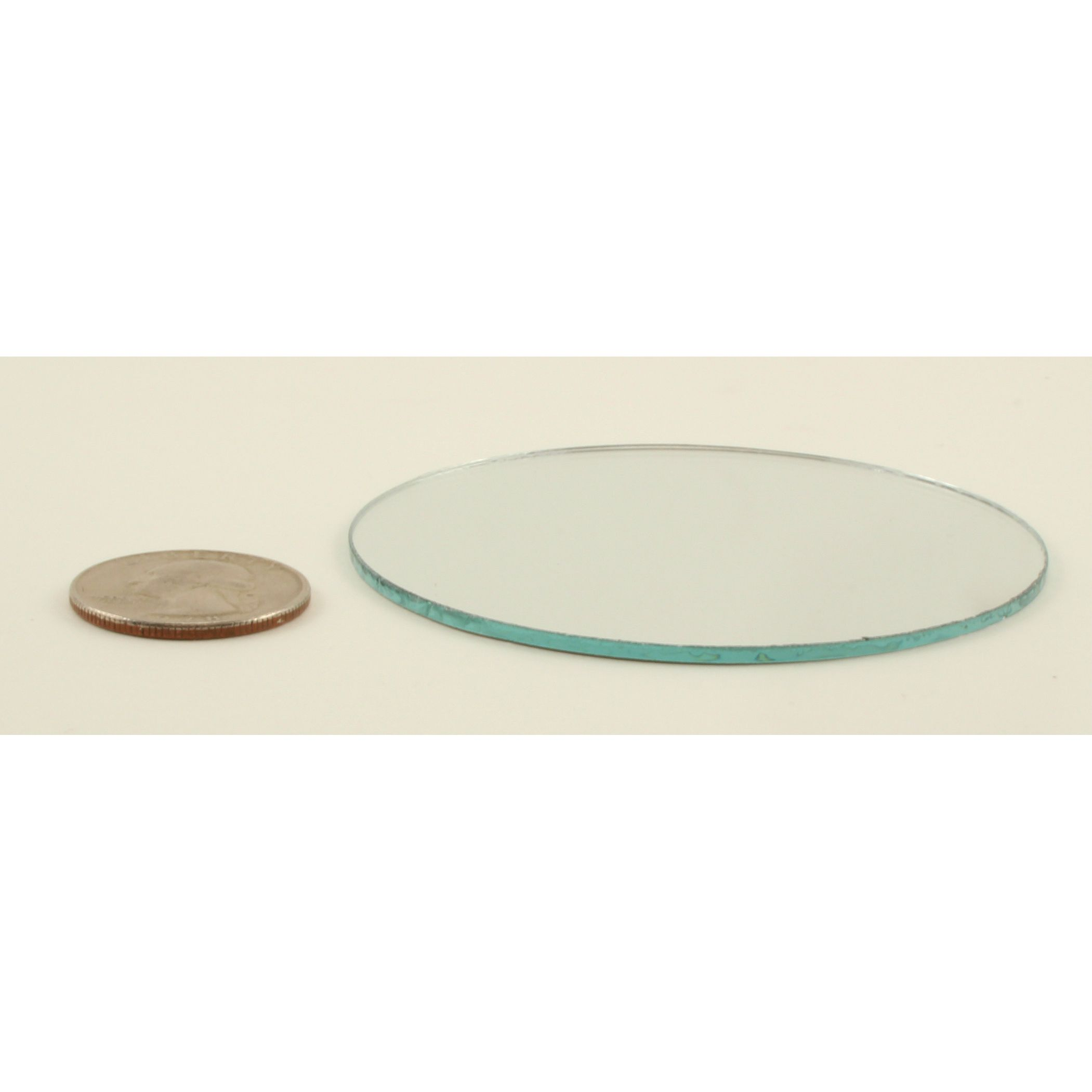 Small Mirror Pieces: 3 Inch Glass Small Round Mirrors Bulk 100 Pieces Mirror