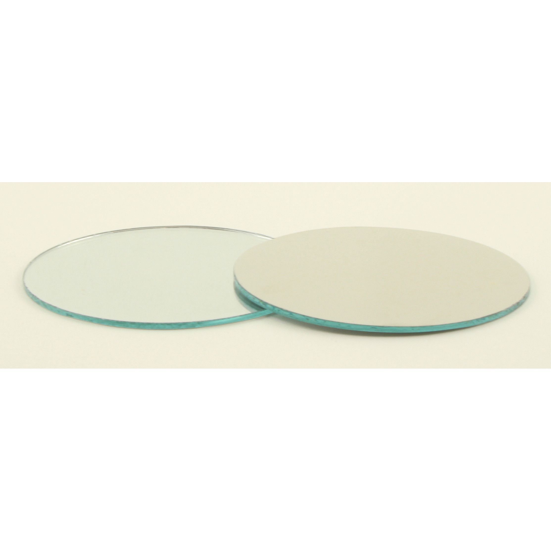 Small Mirror Pieces: 2.5 Inch Glass Craft Small Round Mirrors 24 Pieces Mosaic