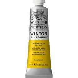 Winsor & Newton Winton Oil Color Yellow Pale Hue 37ml Tube