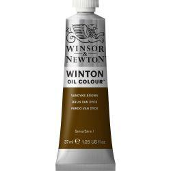 Winsor & Newton Winton Oil Color Vandyke Brown 37ml
