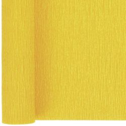 Yellow Crepe Paper Sheets