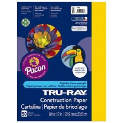 9x12 Pacon Yellow Construction Paper