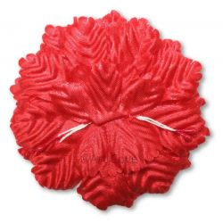 Red Capia Flowers Flat Carnation Capia Base for Corsages