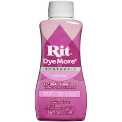 Rit Dye More Synthetic Super Pink