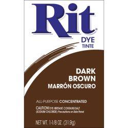 Rit Dye Dark Brown Powder