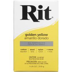 Rit Dye Golden Yellow Powder