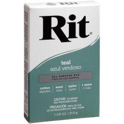 Rit Dye Teal Powder 1-1/8 oz