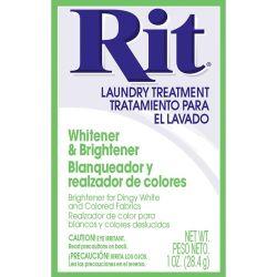 Rit Dye Whitener & Brightener Powder 1oz