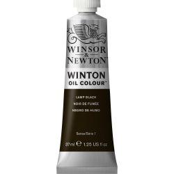 Winsor & Newton Winton Oil Color Lamp Black 37ml