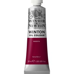 Winsor & Newton Winton Oil Color Magenta 37ml