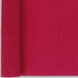 marron crepe paper