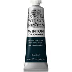 Winsor & Newton Winton Oil Color Phthalo Deep Green
