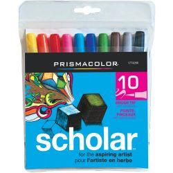 Prismacolor Scholar Markers Set 10 Colors