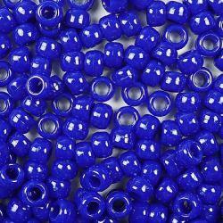 Opaque Royal Blue Pony Beads Bulk