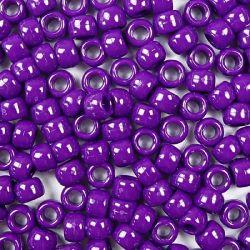 Opaque Neon Purple  Pony Beads Bulk