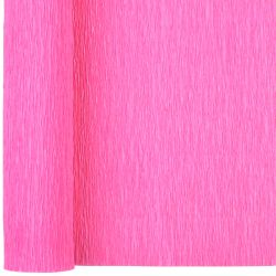 pink crepe paper folds sheets