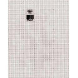10 Mesh Count White Plastic Canvas Sheet