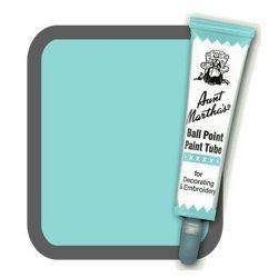 Aunt Martha's Ballpoint Paint Tube Aqua