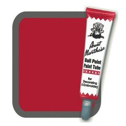 Aunt Martha's Ballpoint Paint Tubes Brick Red