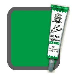 Aunt Martha's Ballpoint Paint Tube Green