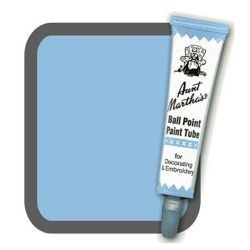 Aunt Martha's Ballpoint Paint Tube Light Blue