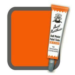 Aunt Martha's Ballpoint Paint Tube Orange