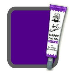 Aunt Martha's Ballpoint Paint Tube Purple