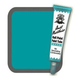 Aunt Martha's Ballpoint Paint Tube Teal