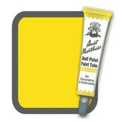 Aunt Martha's Ballpoint Paint Tube Yellow