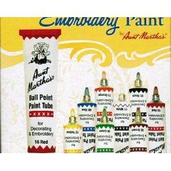 Aunt Martha's Ballpoint Paint Set Primary Colors