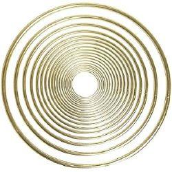 7 inch metal rings