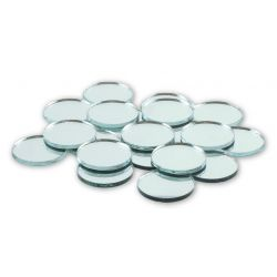 1 inch round mini craft mirrors bulk