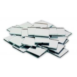 1 inch Mini Square Glass Mirrors Bulk