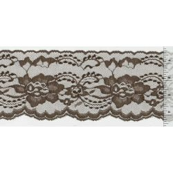 4 Inch Flat Lace Brown