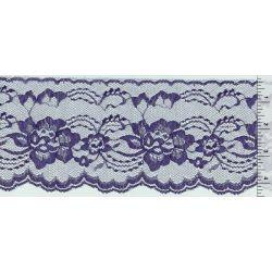 4 Inch Flat Lace Purple