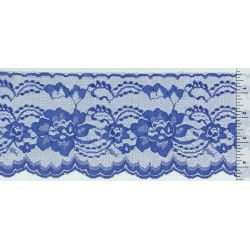 4 Inch Flat Lace Royal Blue