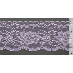 4 Inch Flat Lace Lavender