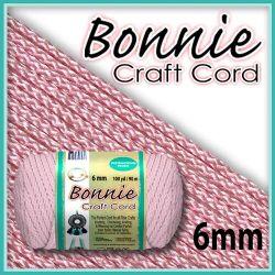 6mm Pink Macrame Cord
